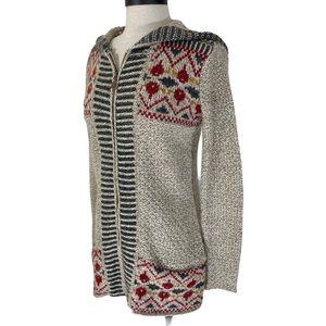 Royal Robbins long hoodie cardigan, size Small
